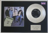 "THE BEATLES - 7"" Platinum Disc with cover - Ticket  to Ride"